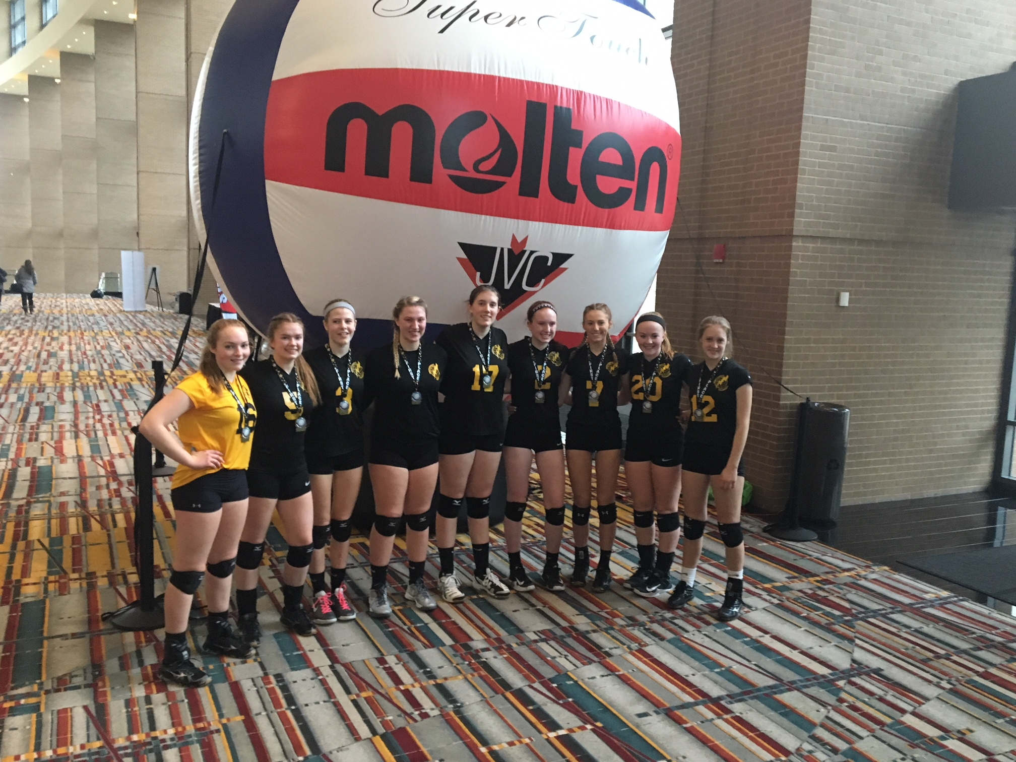 1st Place in Gold Division of January 2018 Mizuno New England Winterfest Tournament