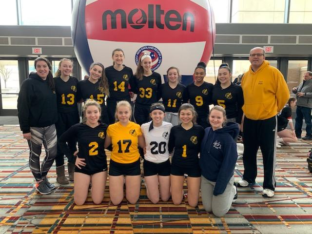 18 Thunder - Semifinalist in Bronze Divions
