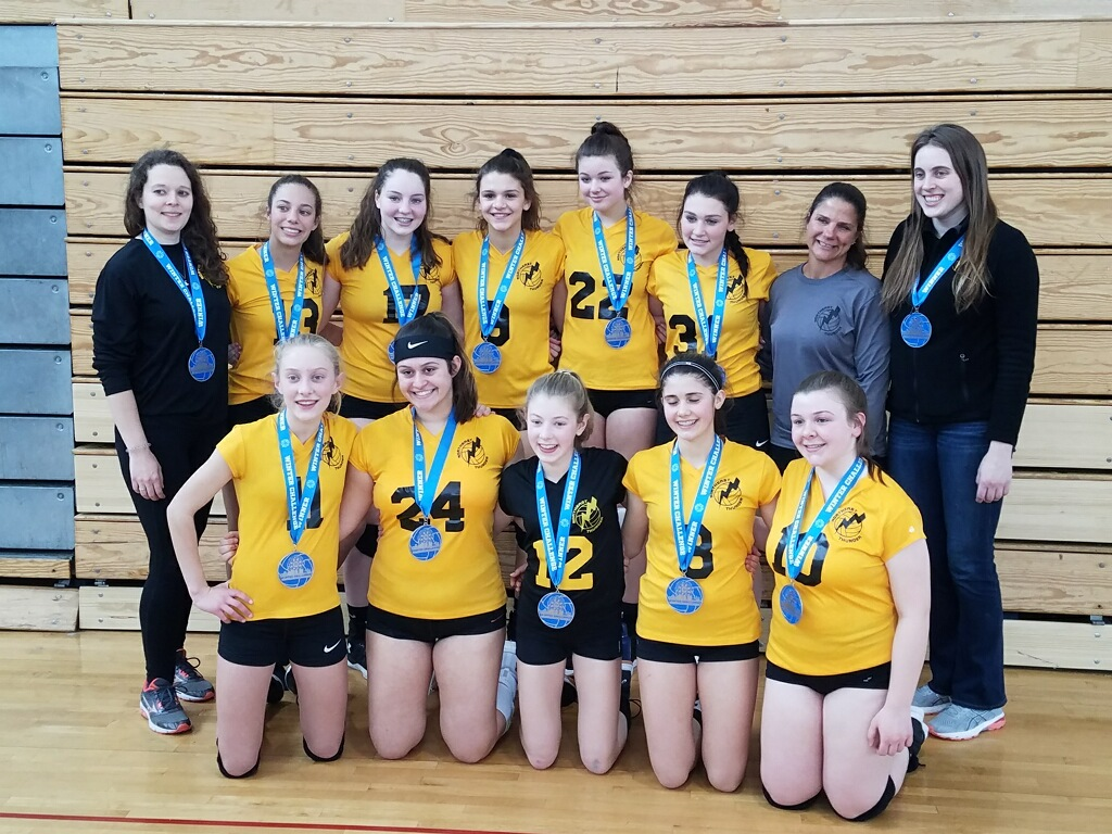 15 Thunder 2nd Place Finish in Gold Division of VolleyFX Winter Challenge