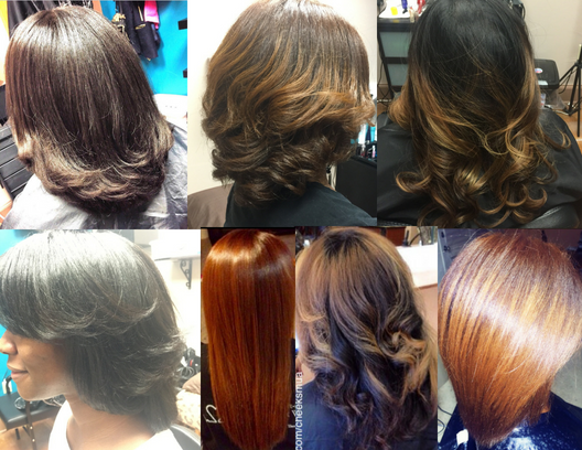 Blowouts, Cuts & Styles - Click Here to Book & for Details