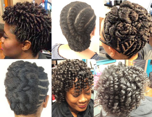 Curly Do's... - Twist In/Twist Out, Comb Coils, Roller Sets...Styles for our natural textured beauties.Click Here to Book your appointment and for pricing details
