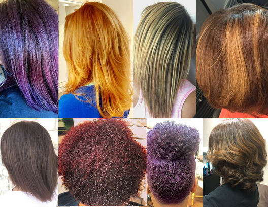 the Color Bar... - We use superior products: Paul Mitchell the Color , Matrix and Wella Color.All color services include 1.5 oz of color. Additional oz. are $8 each. Consultation & Strand Test is required for ALL Color services. No exceptions. Blowout and Style not included. Corrective Color Services is by consultation first. We will need to access your current hair condition and formulate a plan that works best.To schedule your hair color service consultation click here, then select color bar. A color consultation is required before setting your appointment.