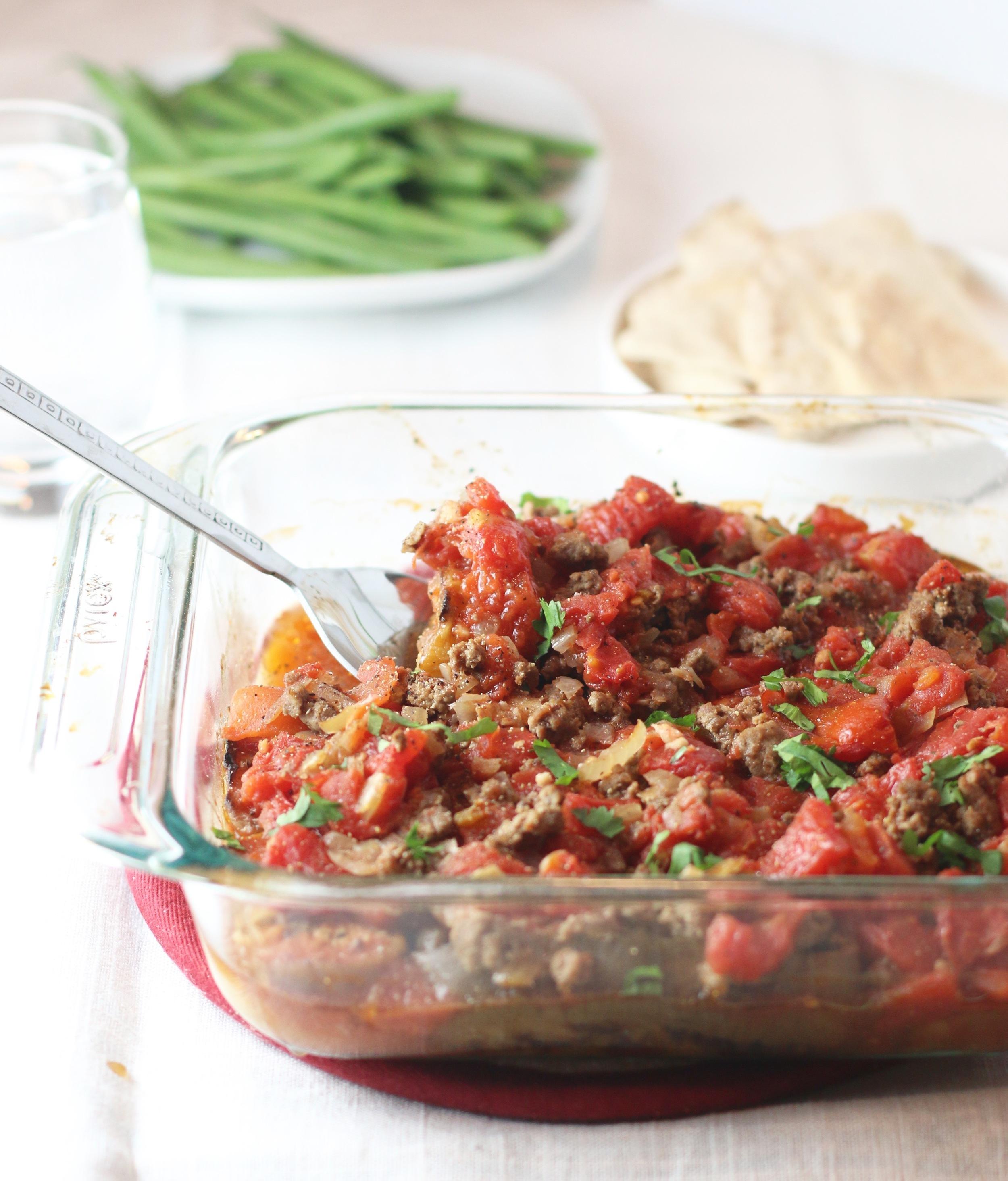 Serve with warm pita bread or white rice