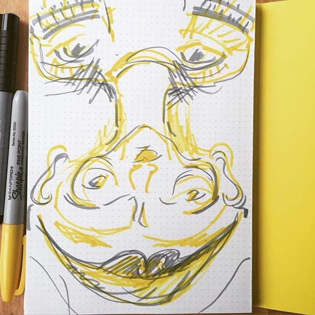 #yellow#flip#silly#doodle#turnyourphoneupsidedown