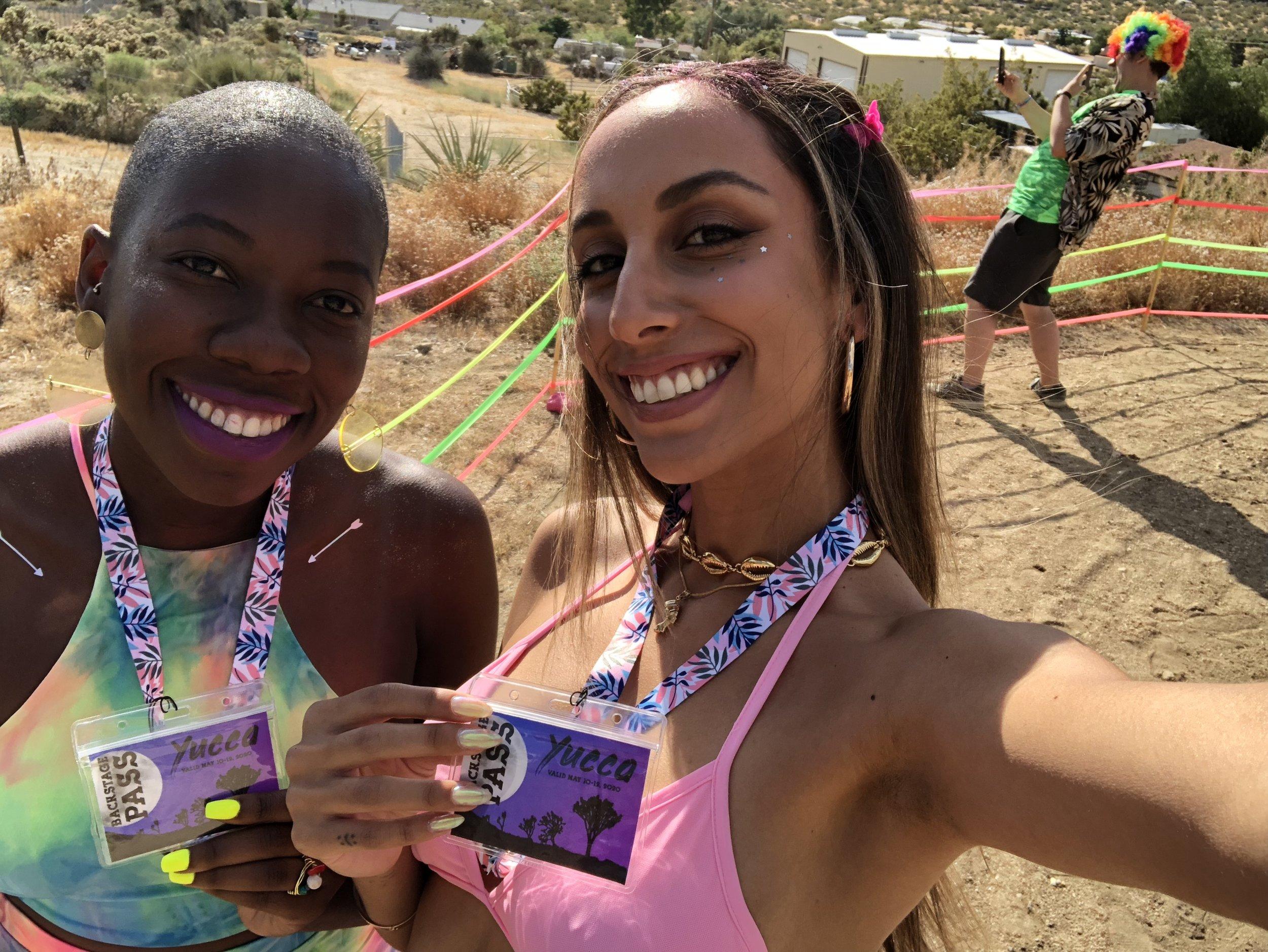 soCaldaze   literally living our best life  @ithastobeangela    #yuccafest #festivallife #active