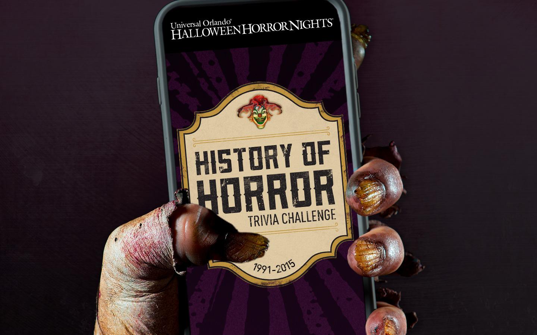 History of Horror Trivia Challenge Logo