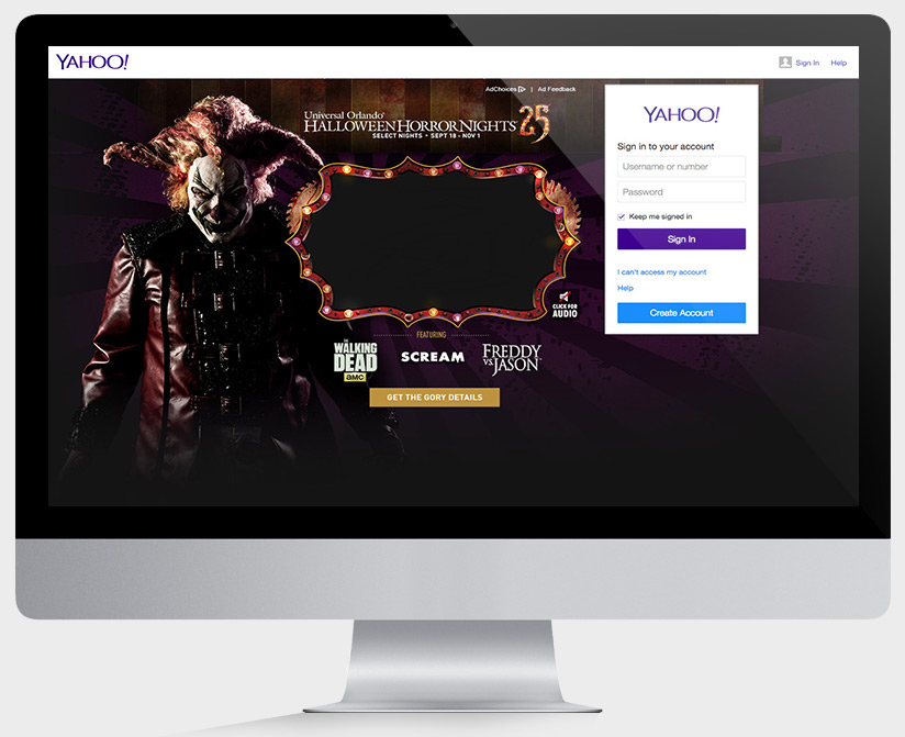 Yahoo Login Takeover