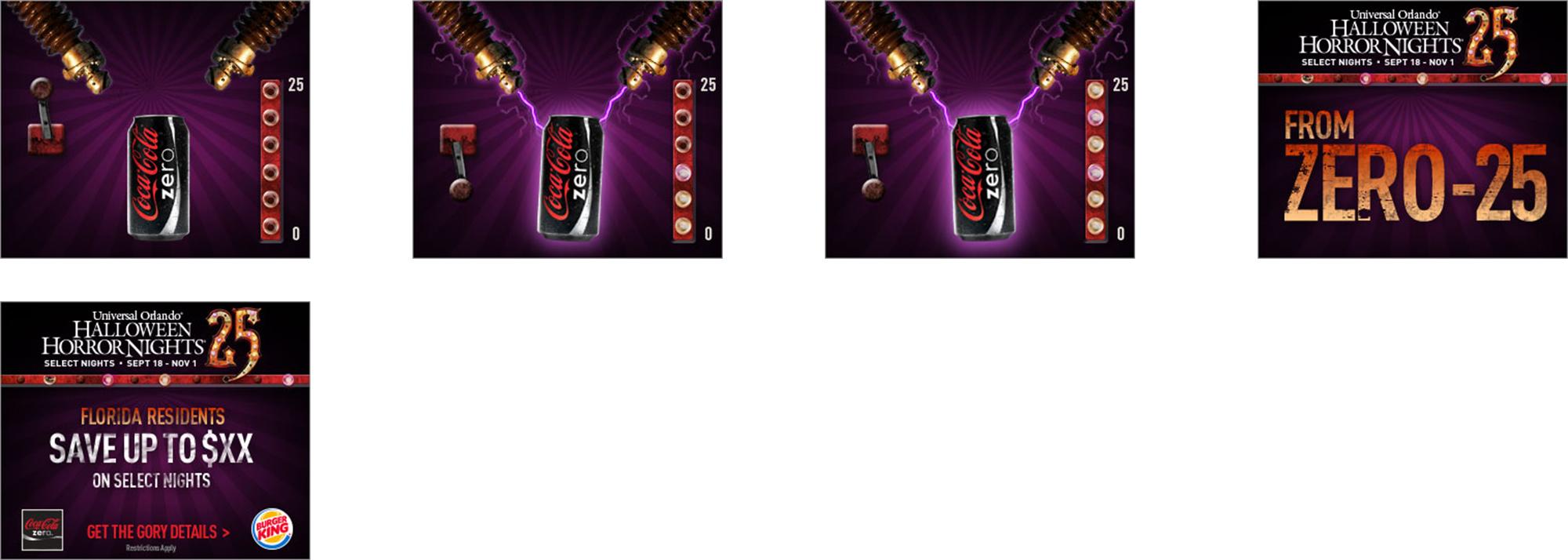 Coke Offer Display Media