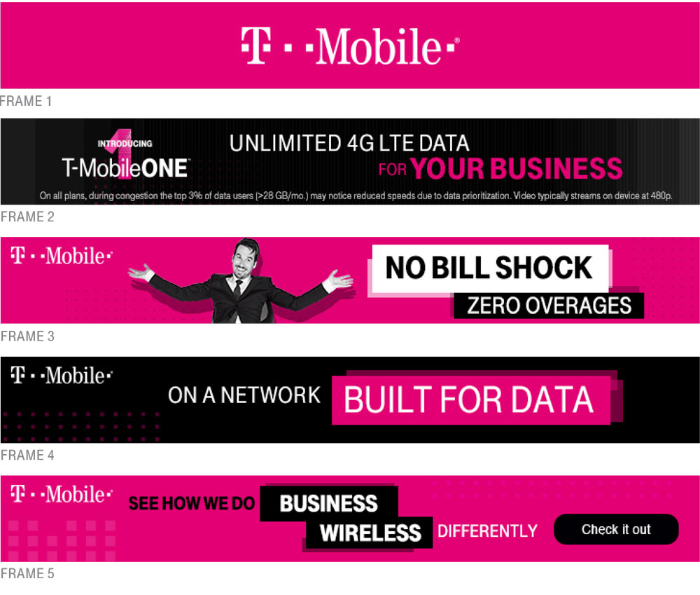 T-Mobile @Work Banners