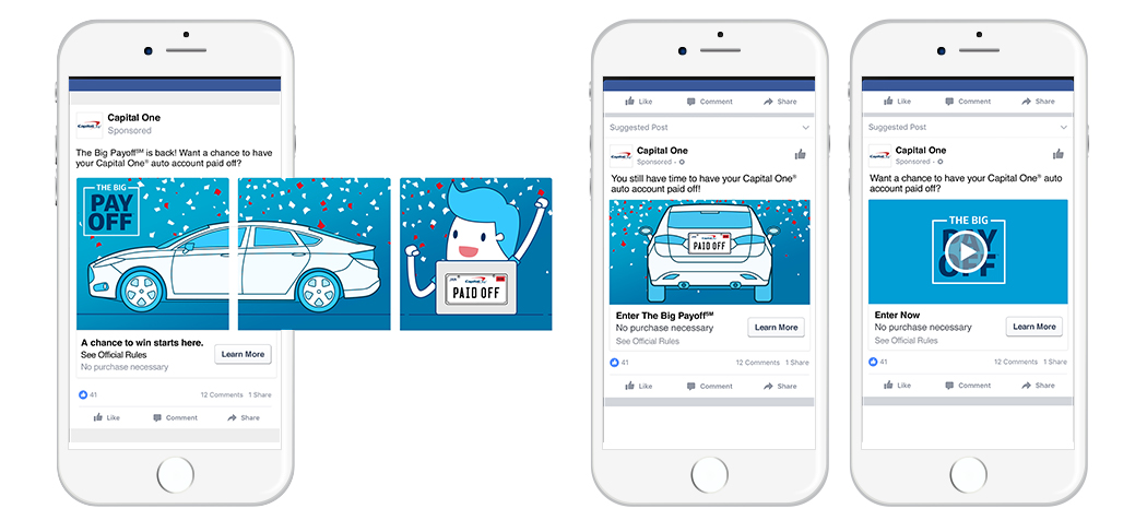The Big Payoff Facebook Social Ads.