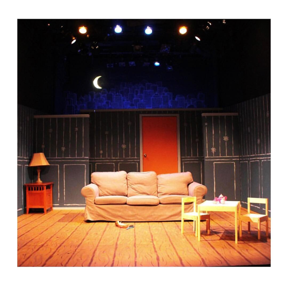 Our beautiful stage designed by Julissa Wright.