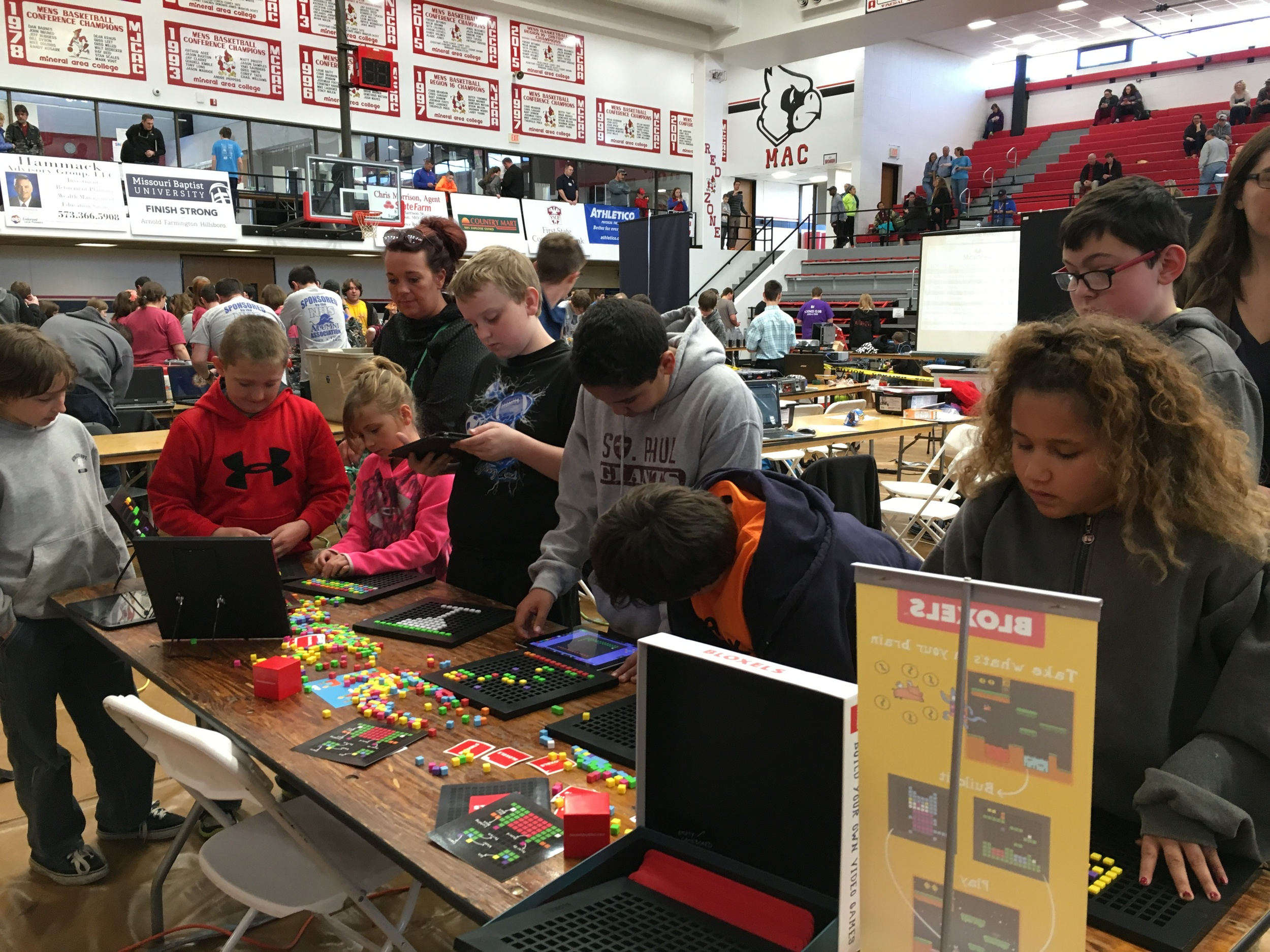 Building with Bloxels