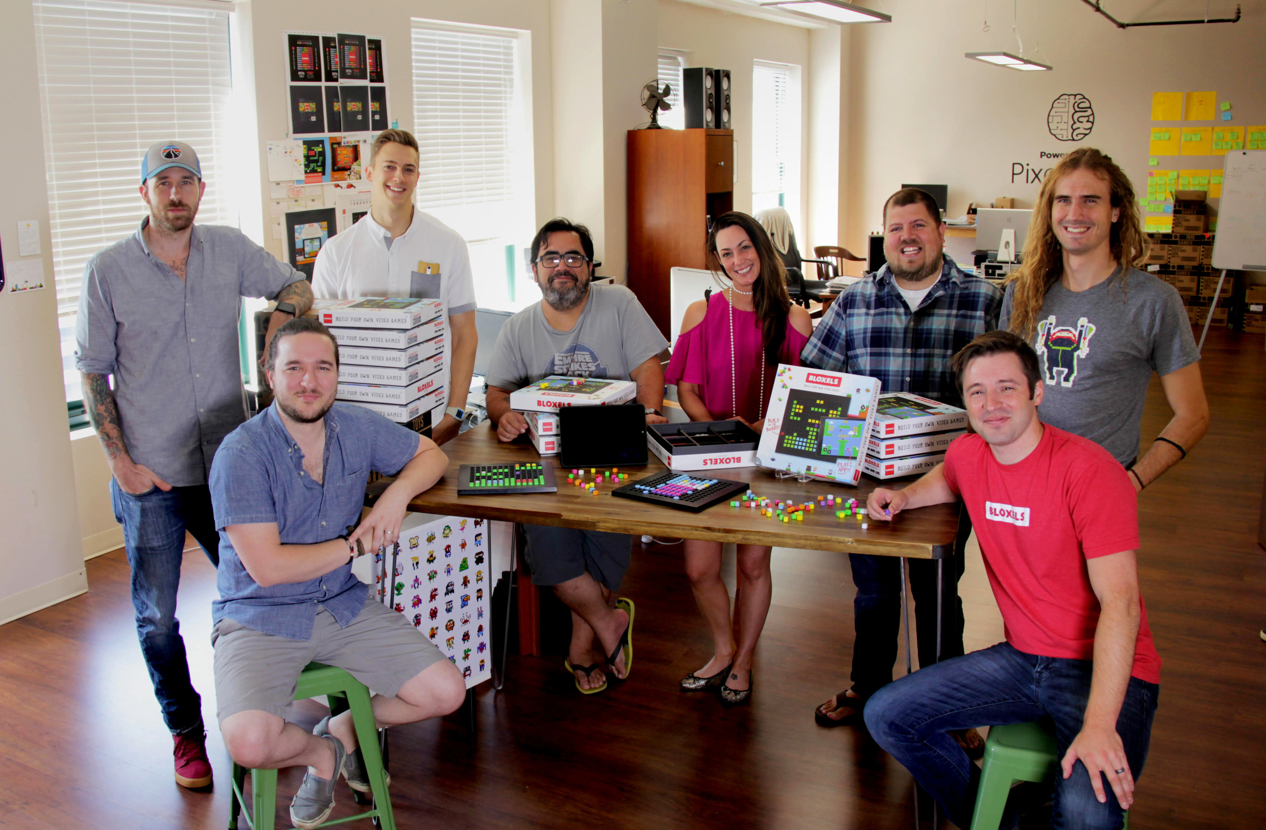 Our team at our office in St. Louis.