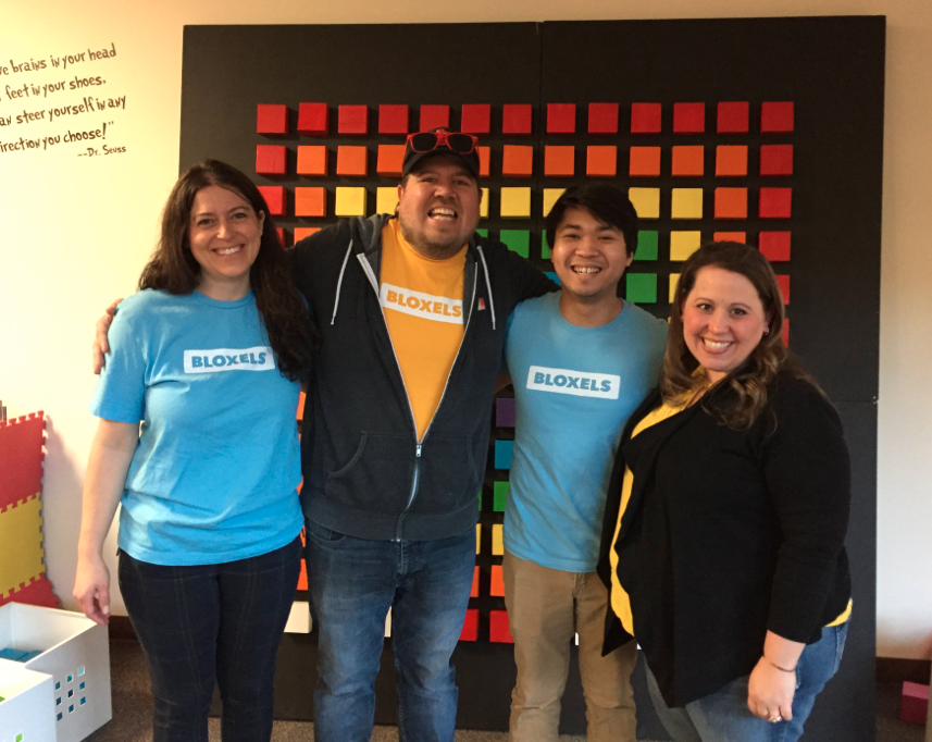 Karie and Bloxels hosted a Game Jam at Country View Elementary!