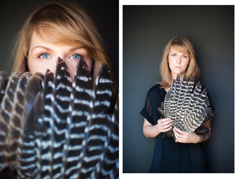 Ashley Lloyd, Milliner. Featured in W Magazine