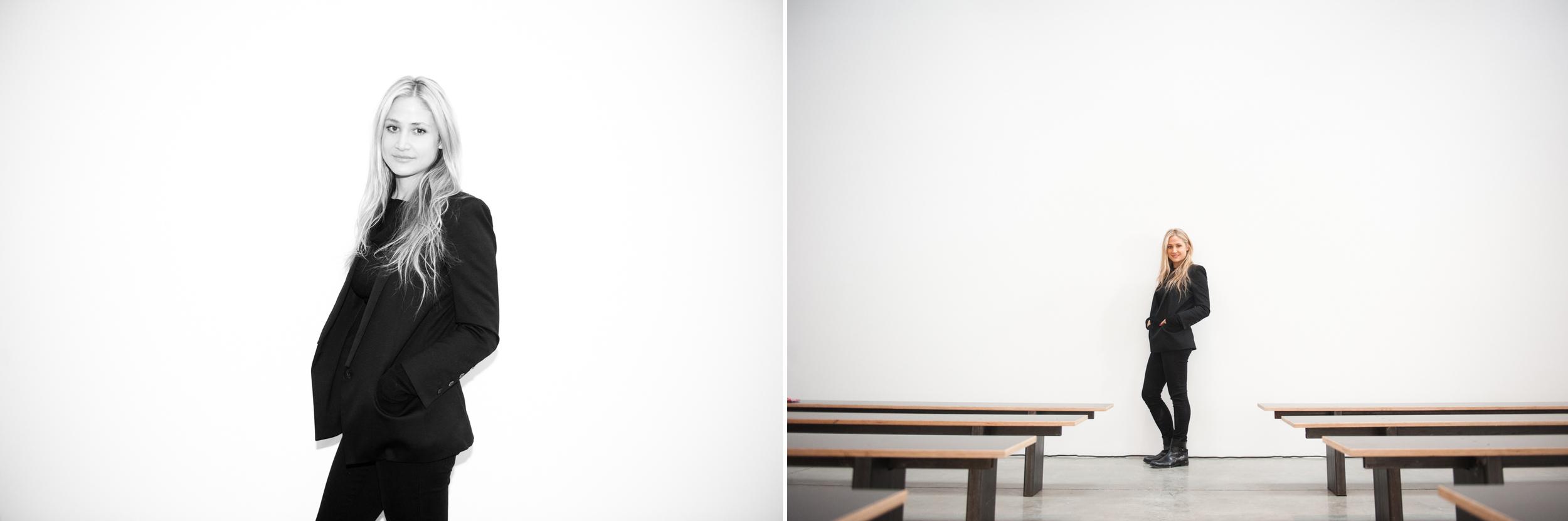 Kimberly Ovitz, Fashion Designer. Featured in Elle Magazine