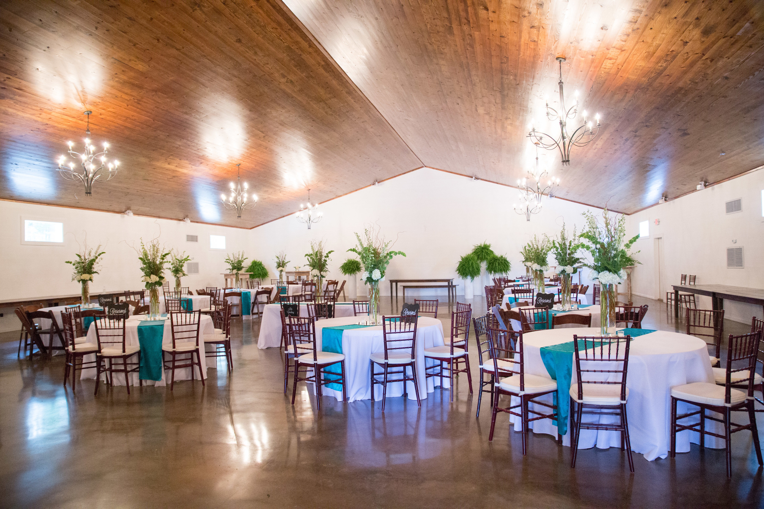 The Ballroom At Hidden Acres | C Holst Photography