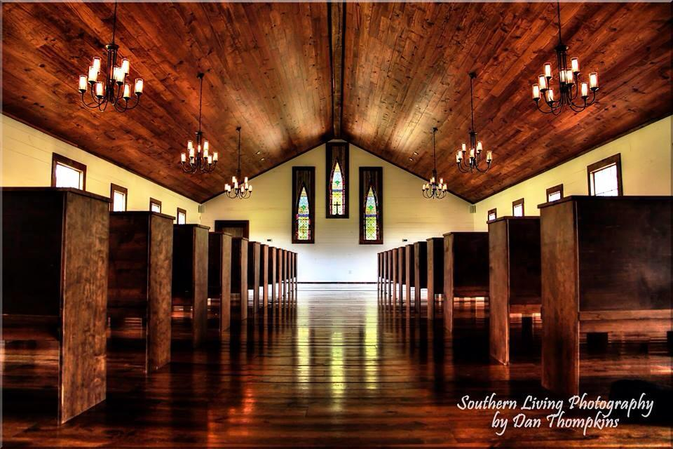 Hidden Acres Chapel | Southern Living Photography