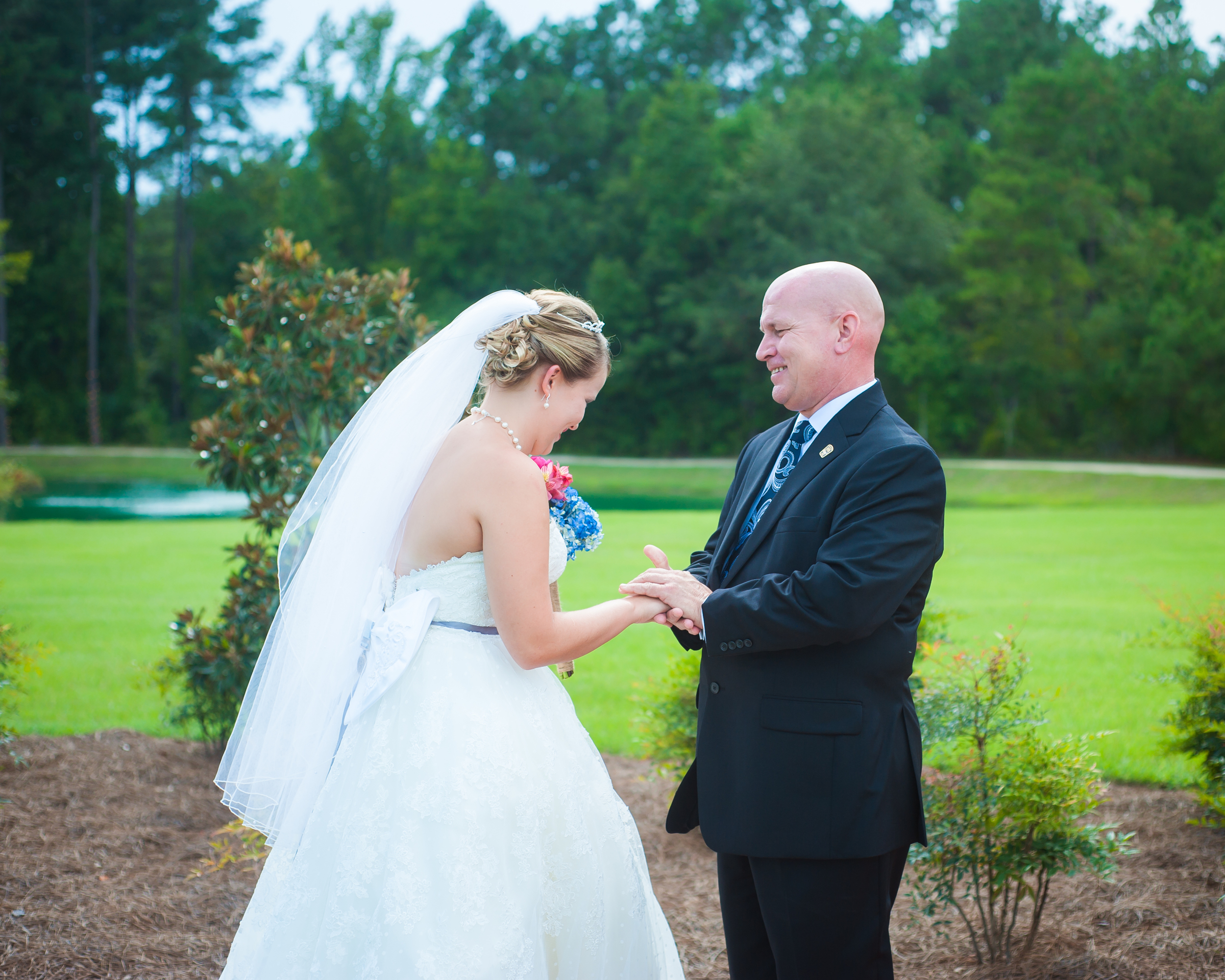 The Ceremony Pond at Hidden Acres | Photographs by Andrea