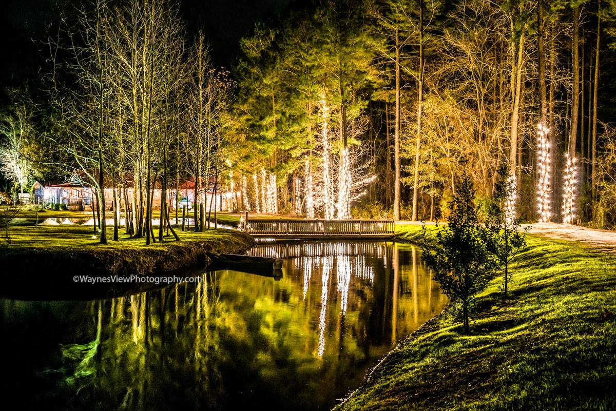 The Ceremony Pond at Hidden Acres | Wayne's View Photography