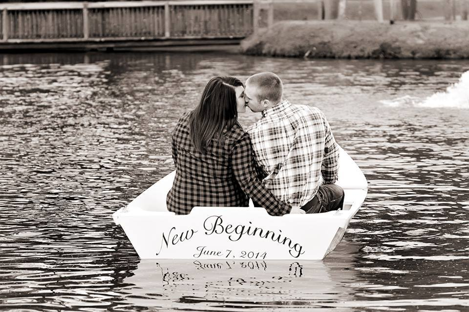 The Ceremony Pond at Hidden Acres | Monkey Business Photography