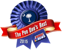 Hidden Acres | Voted Best Wedding Venue of the Pee Dee Region by WMBF News in 2015