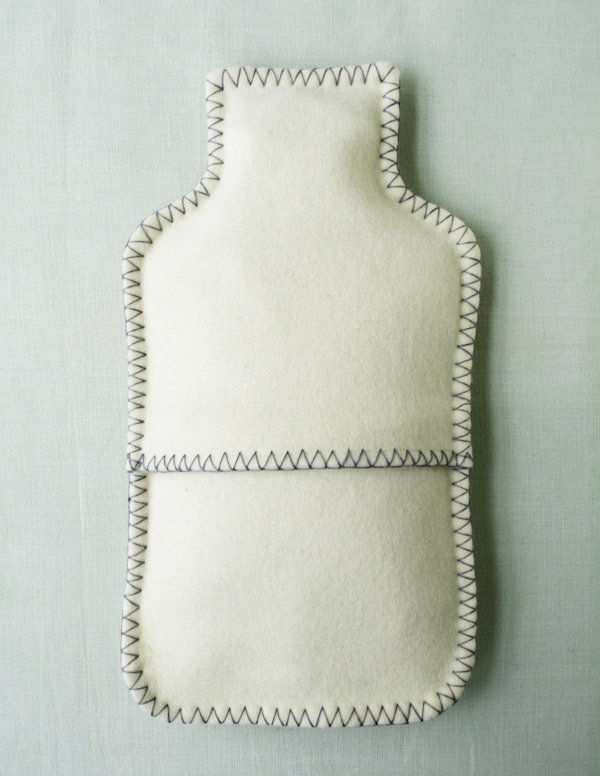 purl soho felted water bottle cover