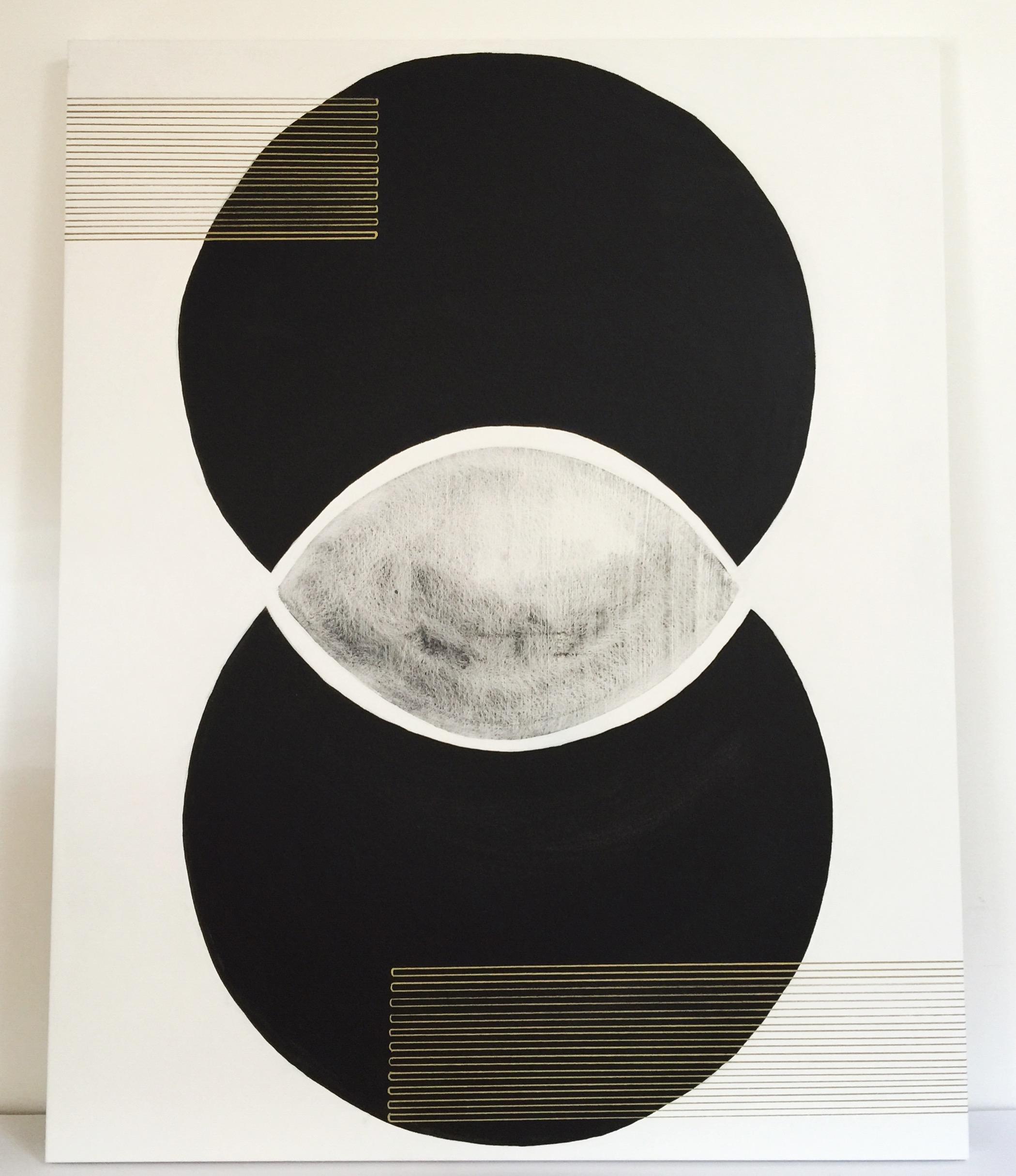Emily Mann, Vesica Venture 3, mixed media on canvas, 60x48, inkandindigo.jpg
