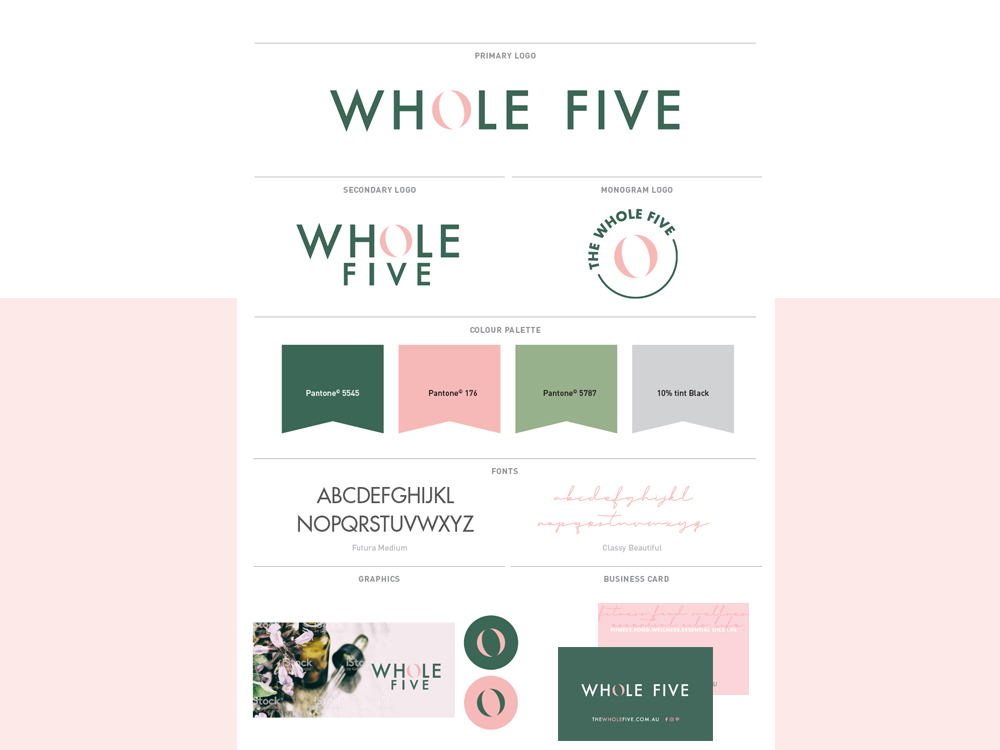 the-whole-five-branding