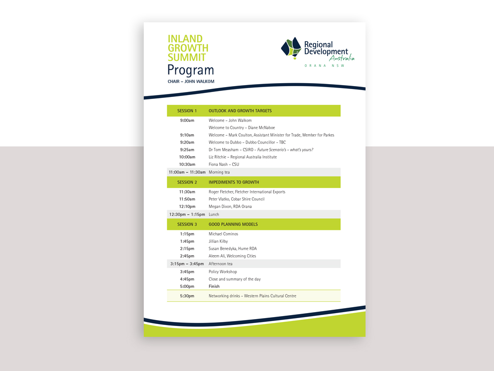 RDA-Orana-Growth-Summit-program