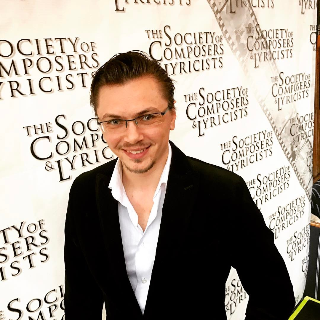 On the Red Carpet of the 2017 Society of Composers & Lyricists Oscar Reception