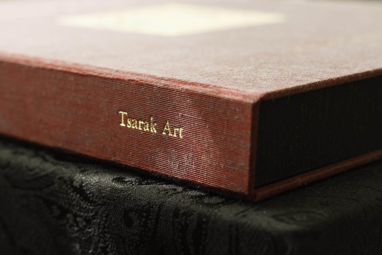 Celestial Portfolio Handmade Silk Box
