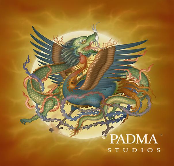 Phoenix and Dragon