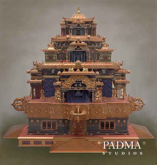Zangdok Palri Mandala by Pema Namdol Thaye