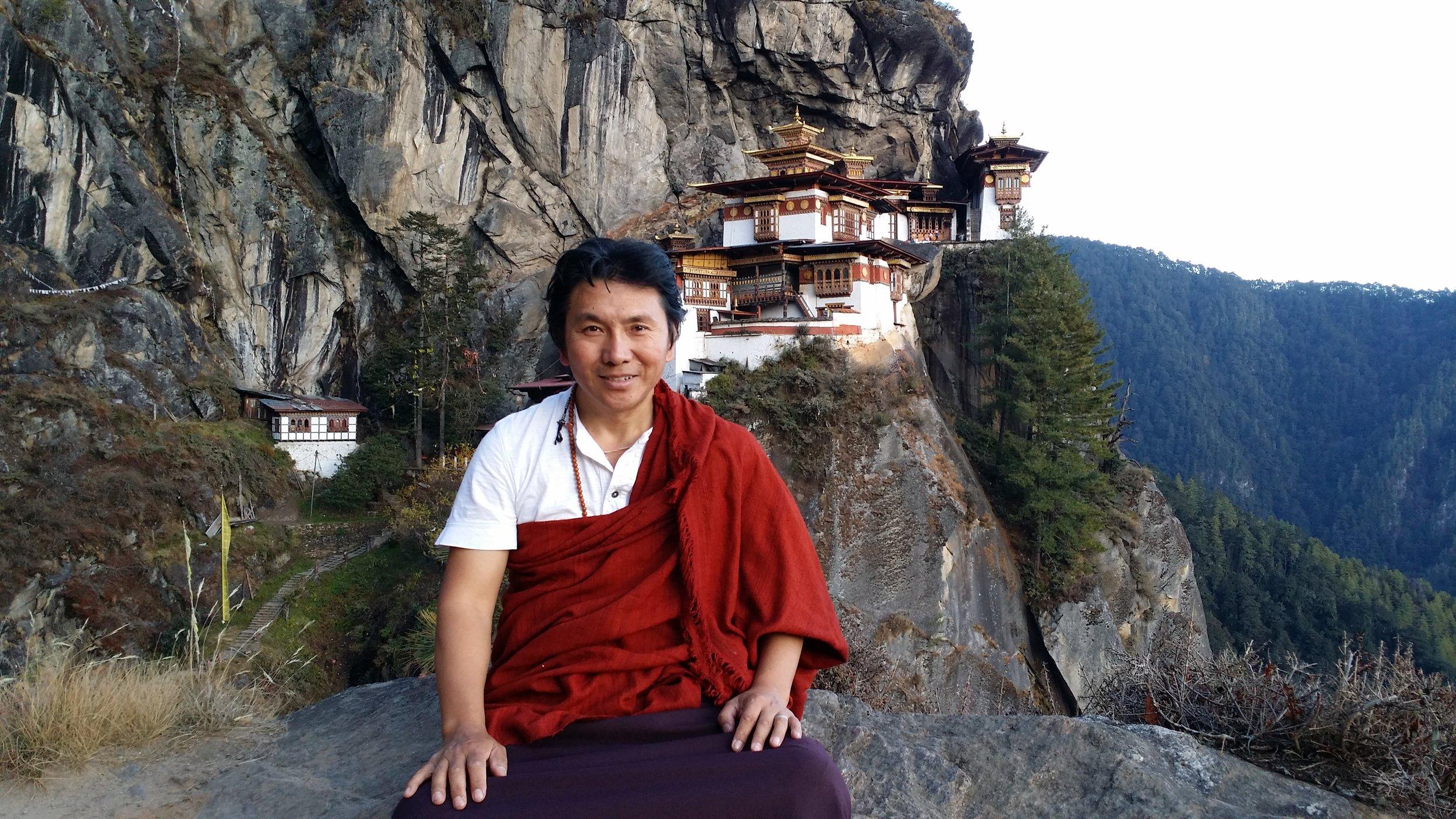 Pema Namdol Thaye, Tiger's Nest, Bhutan