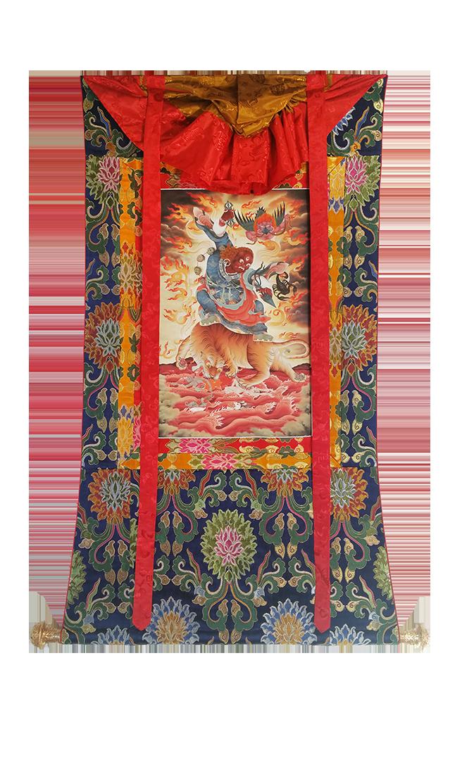 Guru Dorje Drolo Thanka by Pema Namdol Thaye