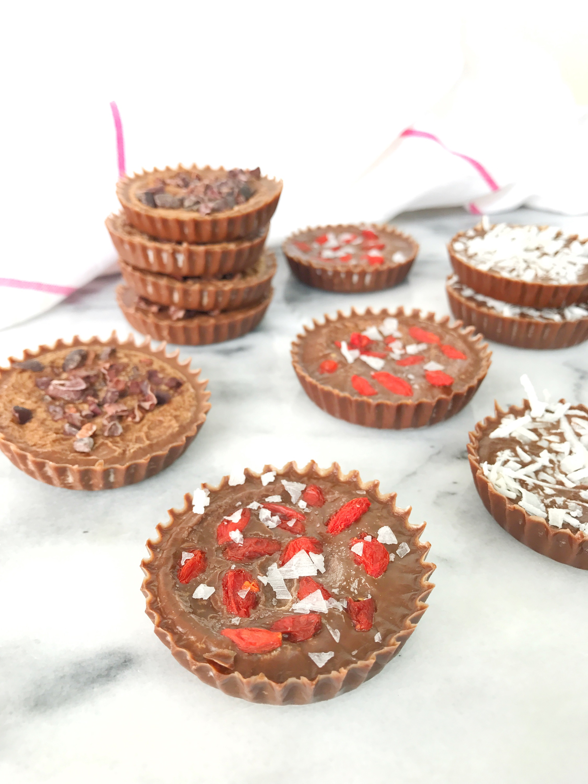 Cacao Coconut Cups