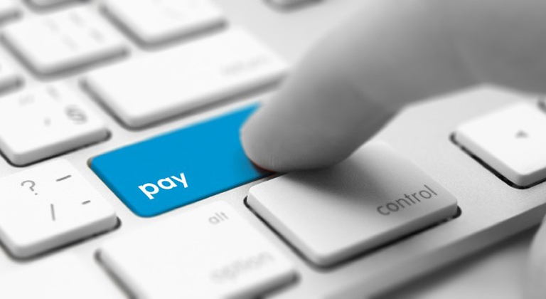 pay button on keyboard