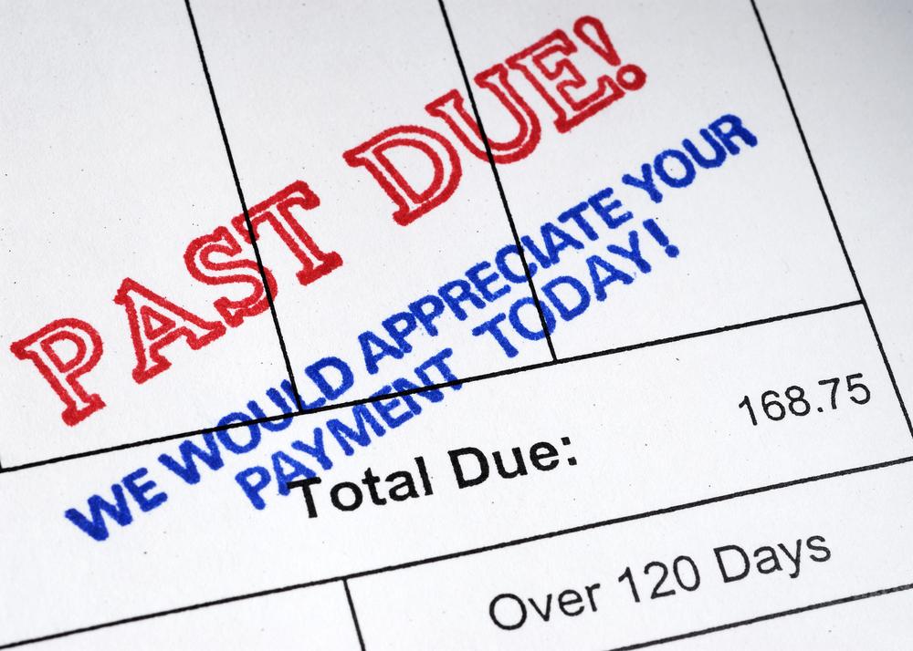 past due invoice