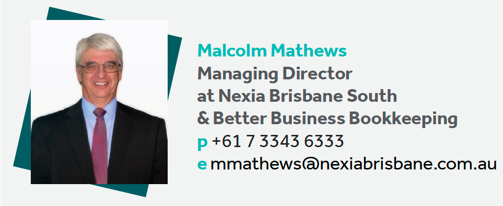 Malcolm Mathews- Contact details