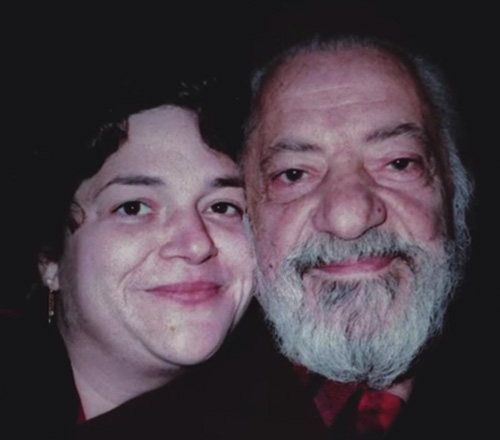 Julie with Carmine Caruso, 1972