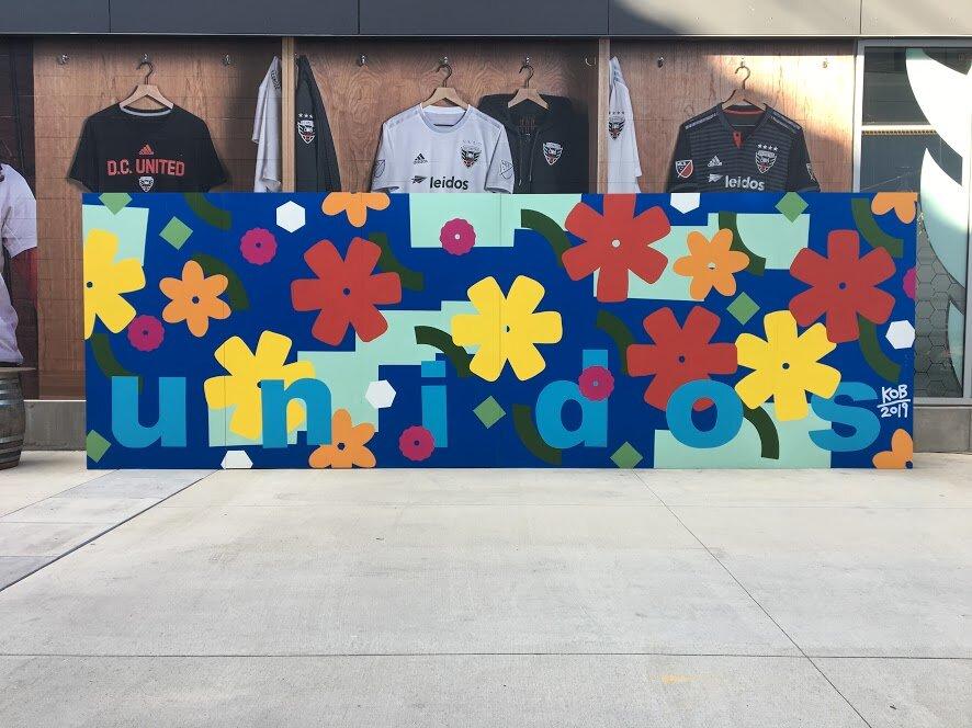 Audi Field Mural 8' x 24'