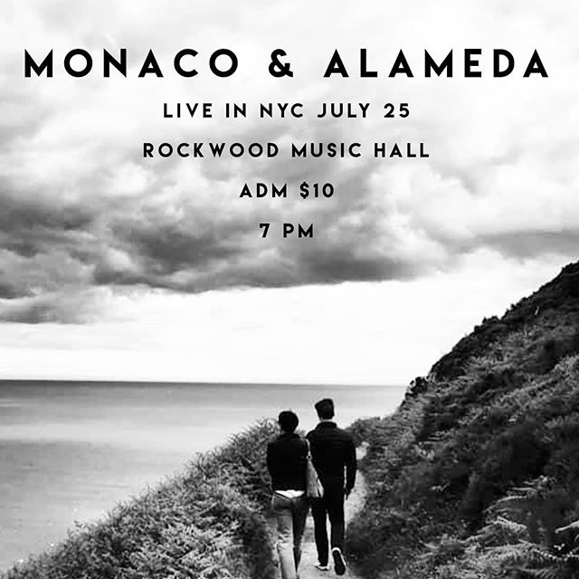Rockwood Music Hall NYC on July 25!  7 pm, $10 adm
