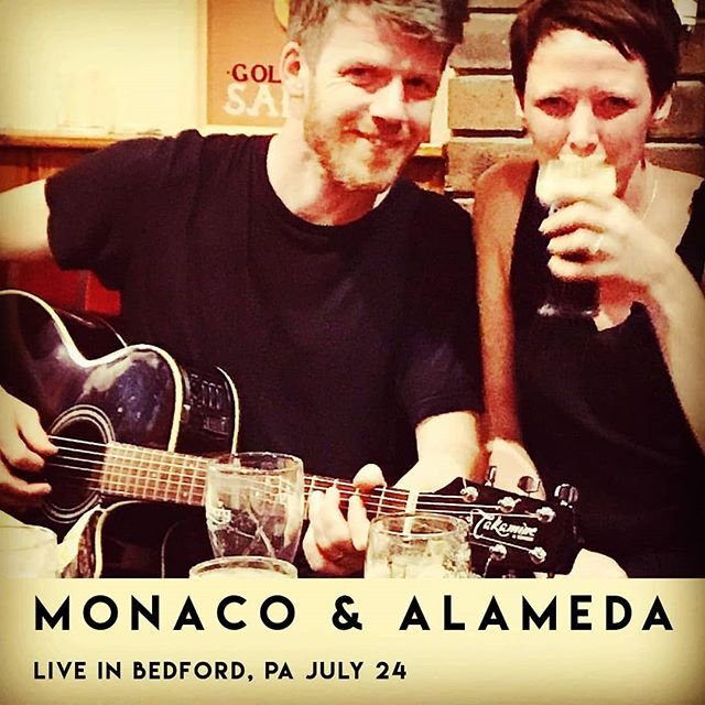 We're playing at an Irish - American fusion dinner with a Beer / Whiskey Pairing in Bedford, PA July 24! 5.30 - 8.30 pm  Tickets: http://members.bedfordcountychamber.com/events/details/monaco-alameda-live-at-the-golden-eagle-inn-1101?fbclid=IwAR1F_YKhL9gNkkYHmKO3Vin51aeC63zrX3UnBveNrLsscMS6xxBtnryz1yc