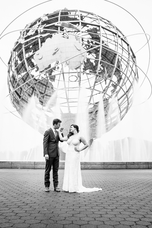 Dan & Beth   Dan and Beth held a wedding celebration at the Queen's Museum on Saturday July 30, 2016. Photo by Mindy Best.