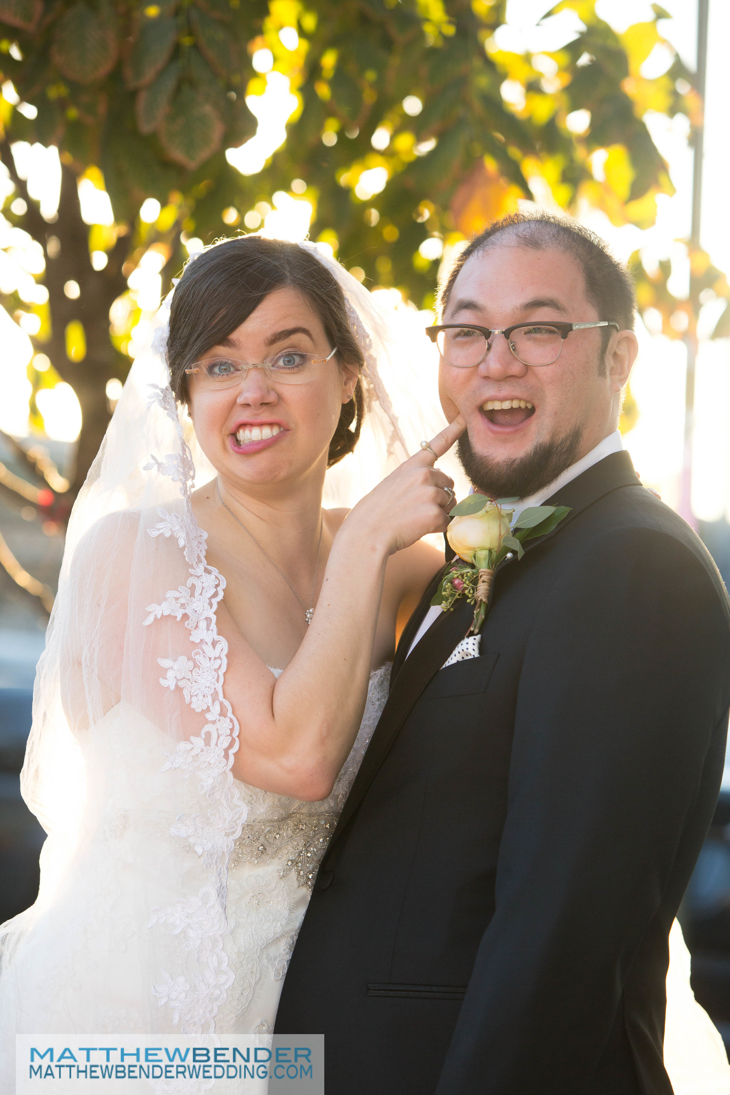 Mike & Caroline   Mike and Caroline were married in Brooklyn Heights on Saturday October 15, 2016. Photo by  Matthew Bender Wedding .