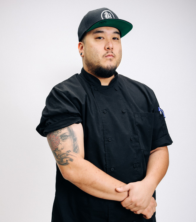 Jeff Fernandez, kitchen line manager at Bosscat Kitchen & Libations