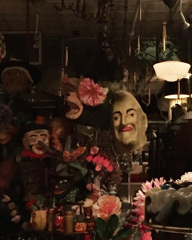 Foul is fair, and fair is foul | East Village | by @emmapratte  #mask #afterhours #paperflowers