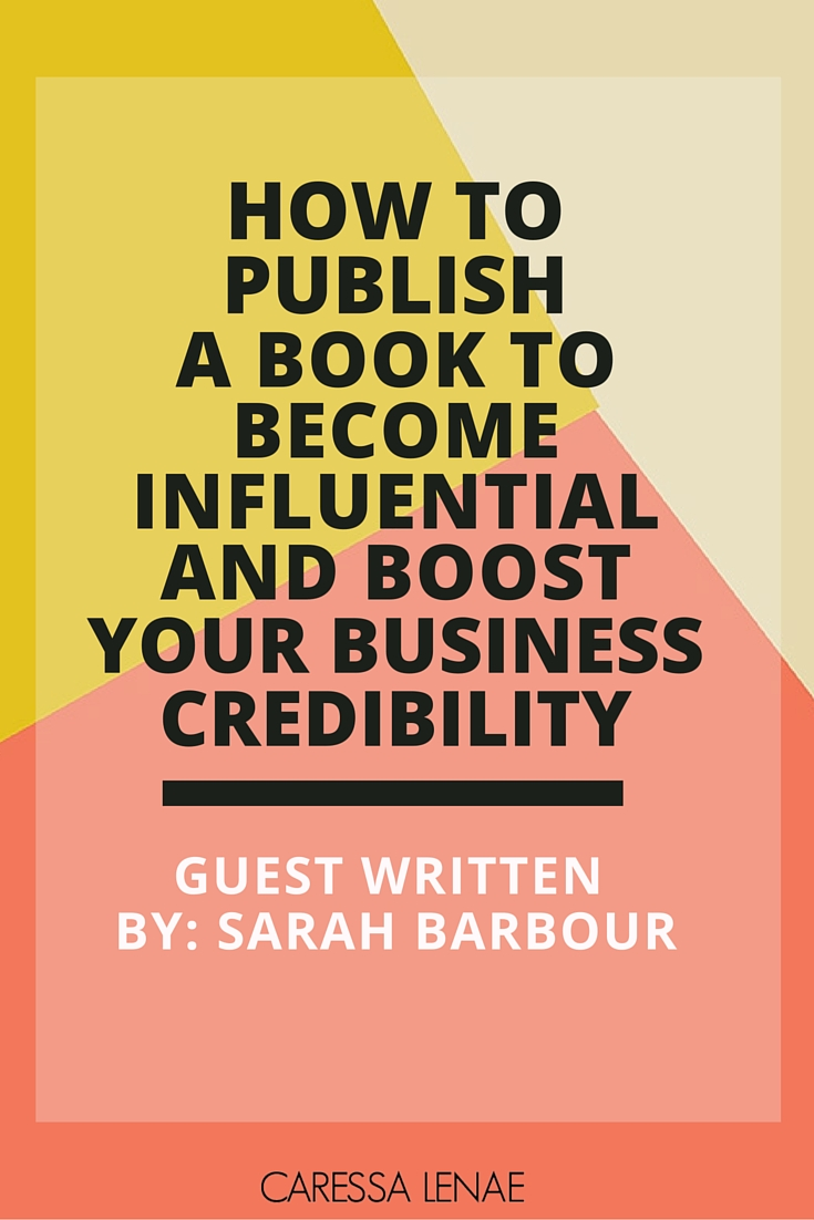 Thinking about writing a book to boost your business? What if it can position you as an influencer in your niche? You can find your answers here plus a detailed book launch checklist to be on your way to a best-selling author! via @CaressaLenae