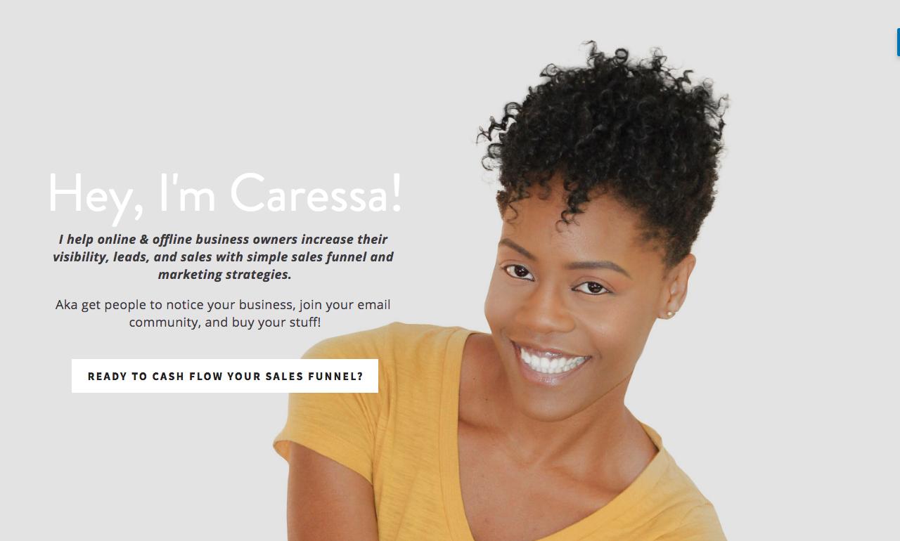CaressaLenae - Sales Funnel Strategist